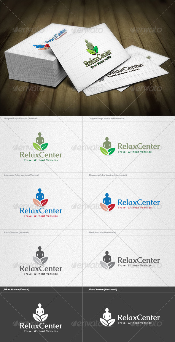 GraphicRiver Relax Center Logo 4275752