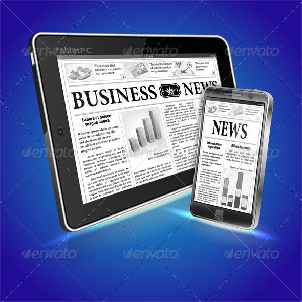 GraphicRiver Concept Digital News 4276359