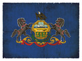 Grunge flag of Pennsylvania (USA) - PhotoDune Item for Sale