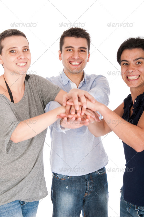 Brother and sisters union - Stock Photo - Images