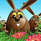 Three Easter Eggs Hidden in the Grass - GraphicRiver Item for Sale