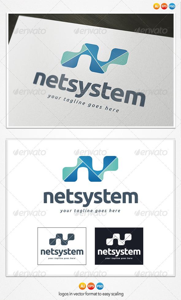 GraphicRiver Netsystem Logo 4279350