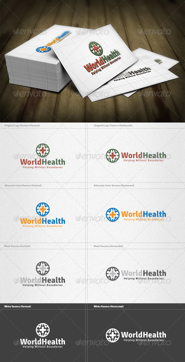 GraphicRiver World Health Logo 4279366
