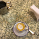 Coffe on marble table - PhotoDune Item for Sale