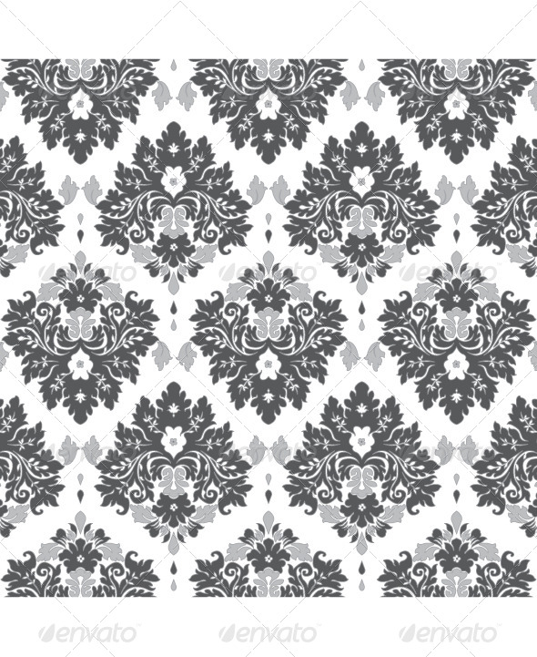 GraphicRiver Damask Seamless Pattern 4281531