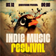 Indie Music Festival Flyer/Poster - GraphicRiver Item for Sale