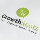 Growth Roots Logo - GraphicRiver Item for Sale