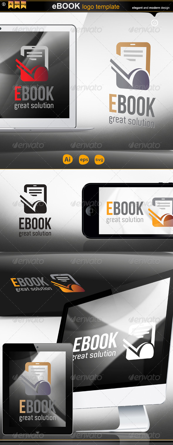 GraphicRiver Ebook Logo 4180290