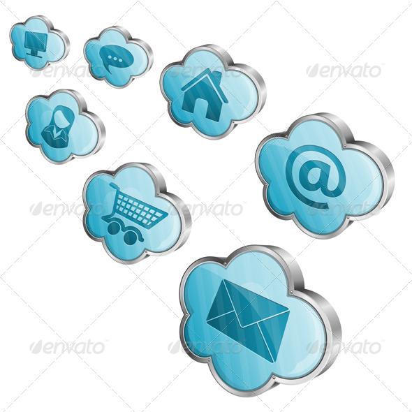 GraphicRiver Cloud Computing 4283874