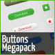 40 Button Styles for Web - GraphicRiver Item for Sale