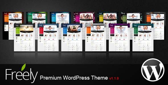 Freely Premium WordPress Theme - Business Corporate