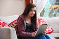 Teenage girl on tablet pc - PhotoDune Item for Sale