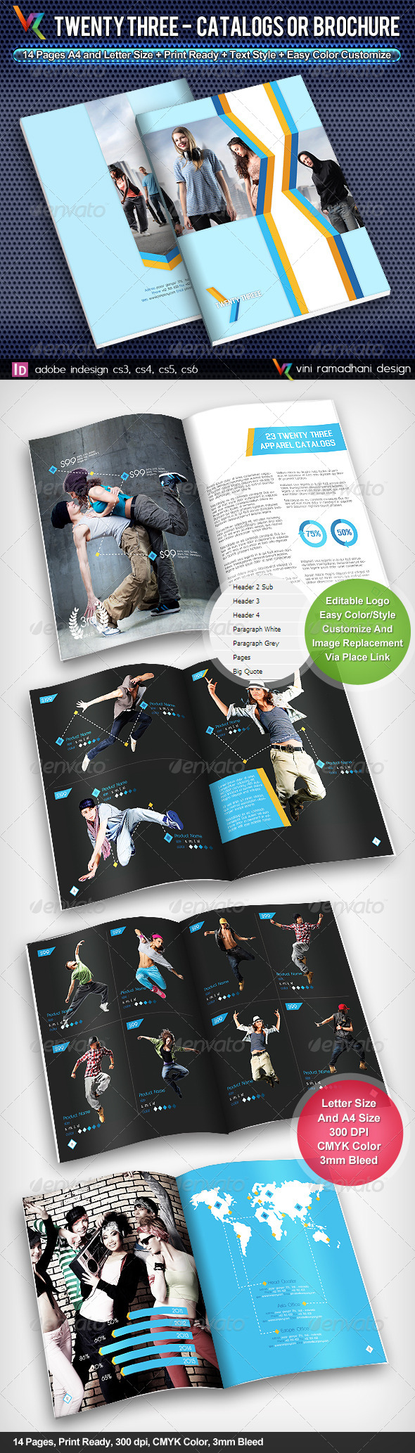 GraphicRiver Twenty Three Catalogs Or Brochure 4110213