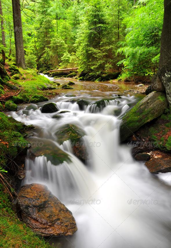 Waterfalls janosikove diery