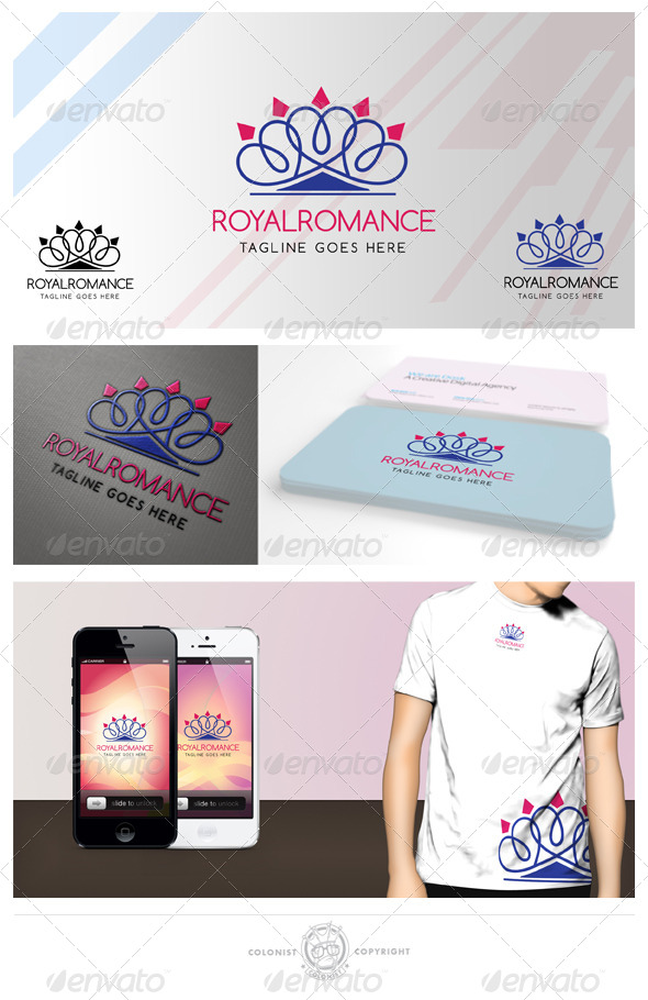 GraphicRiver Royal romance Logo 4178240