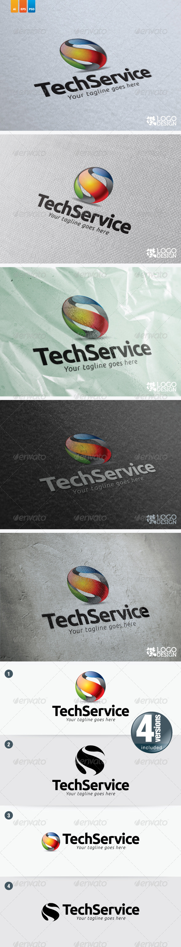 Tech Service - 3d Abstract