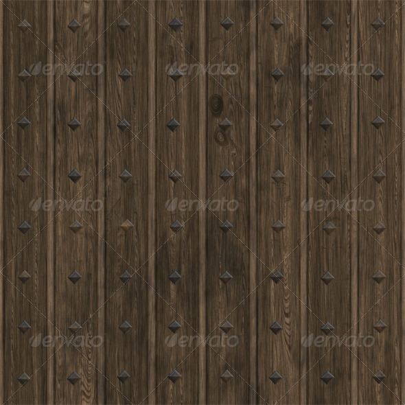 GraphicRiver Studded Woodpanel Texture 4286583
