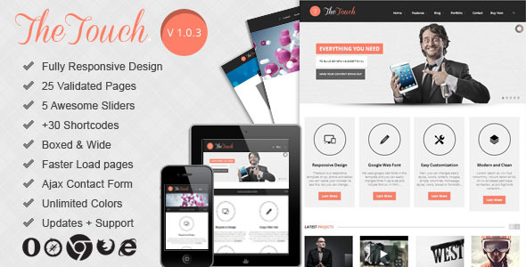 TheTouch | Multi-Purpose Site Template