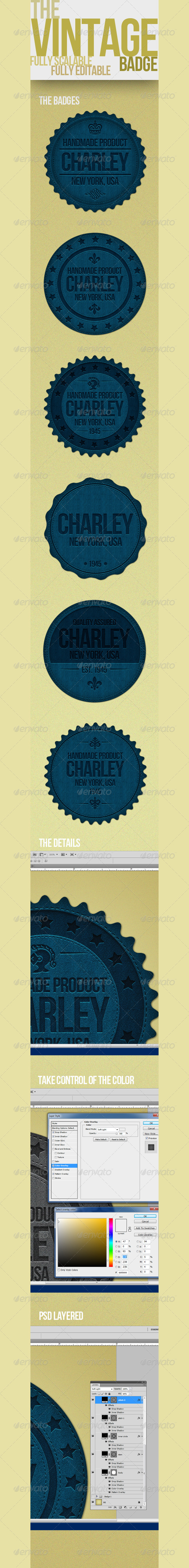 GraphicRiver Vintage Badges 4288807
