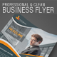 Professional and Clean Business Flyer - GraphicRiver Item for Sale