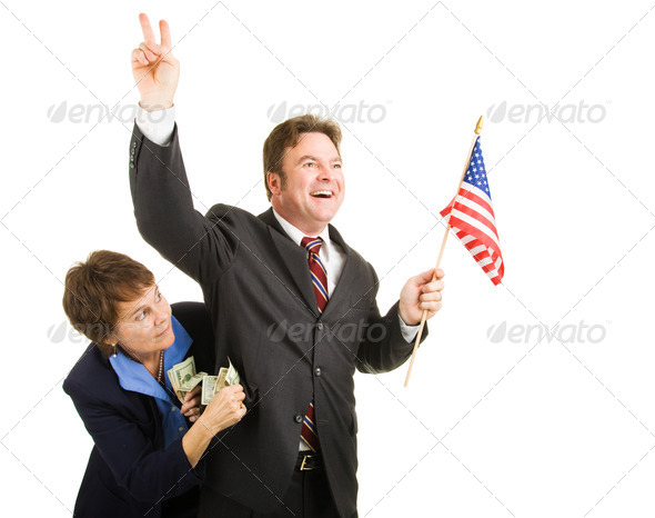 Corrupt Politician - Stock Photo - Images