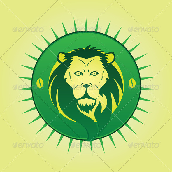 GraphicRiver Lion symbol 4292694