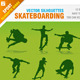 Skateboarding Silhouettes - GraphicRiver Item for Sale