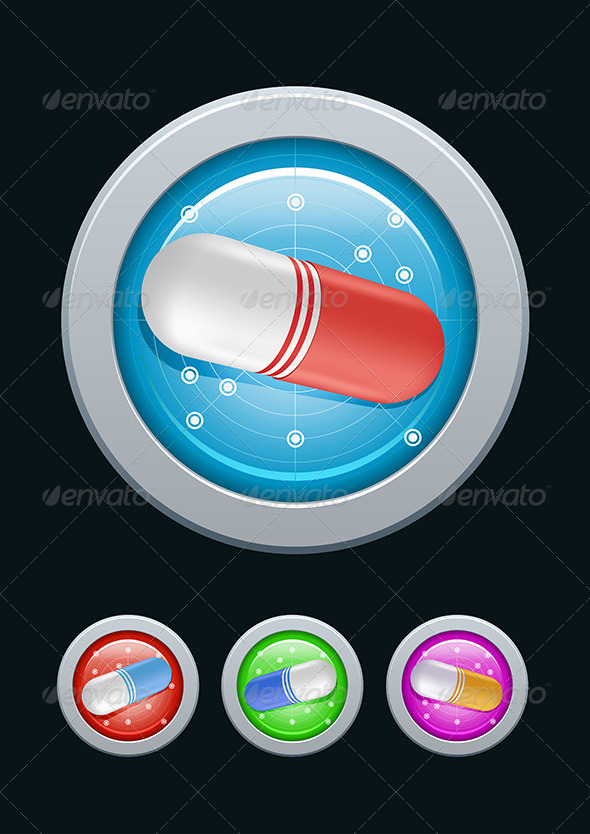 GraphicRiver Pills Radar 4294584