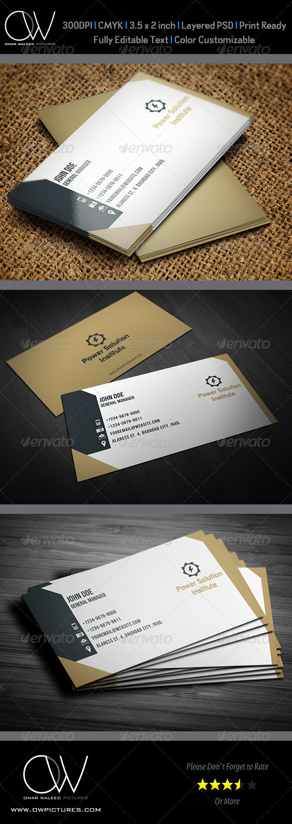 GraphicRiver Corporate Business Card Vol.14 4294798