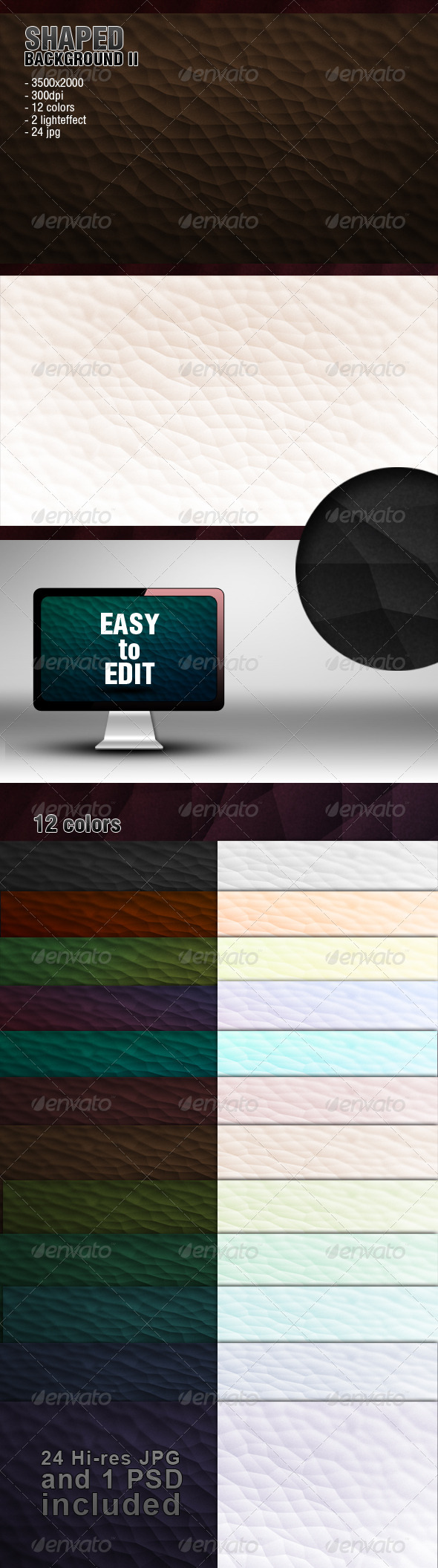 GraphicRiver Shaped Background 2 4297095