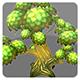 Lowpoly Trees Toon pack 1 - 3DOcean Item for Sale