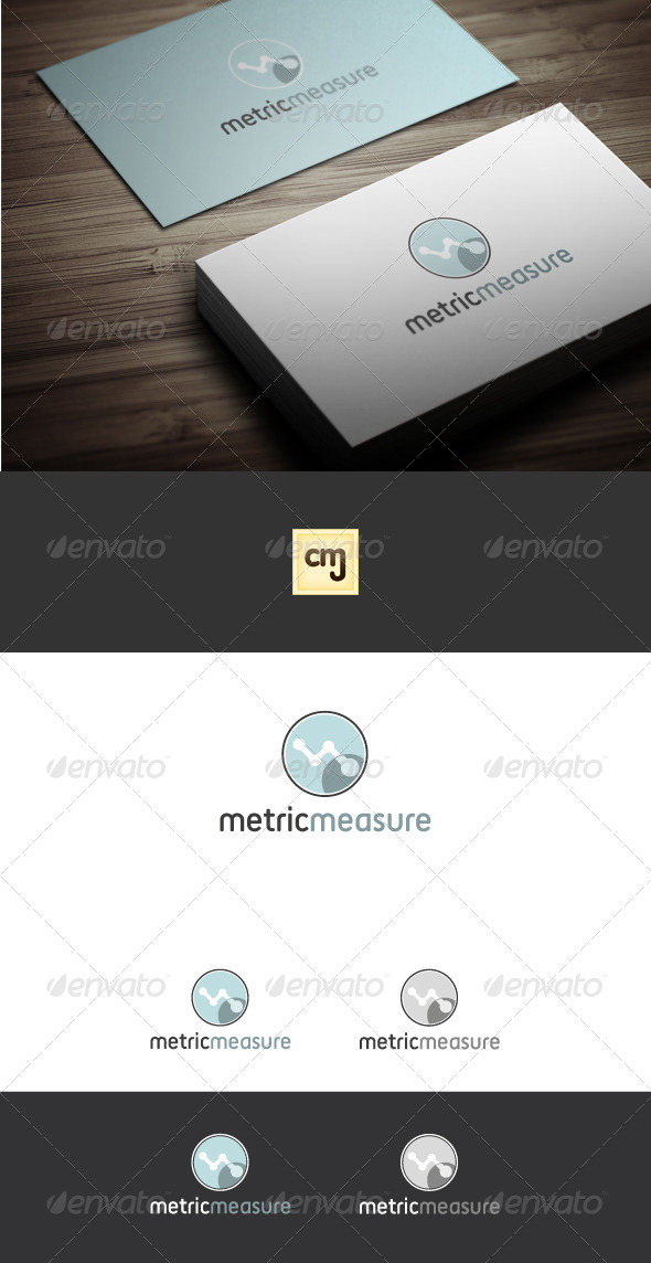 GraphicRiver Metric Measure Logo Template 4299414