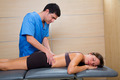 Doctor lumbar exploration on woman patient - PhotoDune Item for Sale