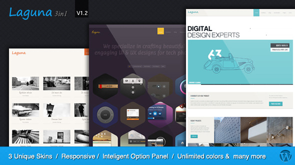 Laguna - Multi-Purpose Responsive WordPress Theme