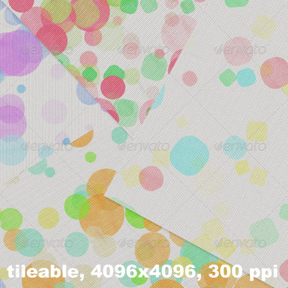 GraphicRiver 4 Dotted Jersey Textures 4300158