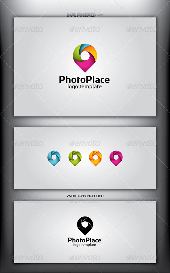 GraphicRiver PhotoPlace Logo Template 4300239