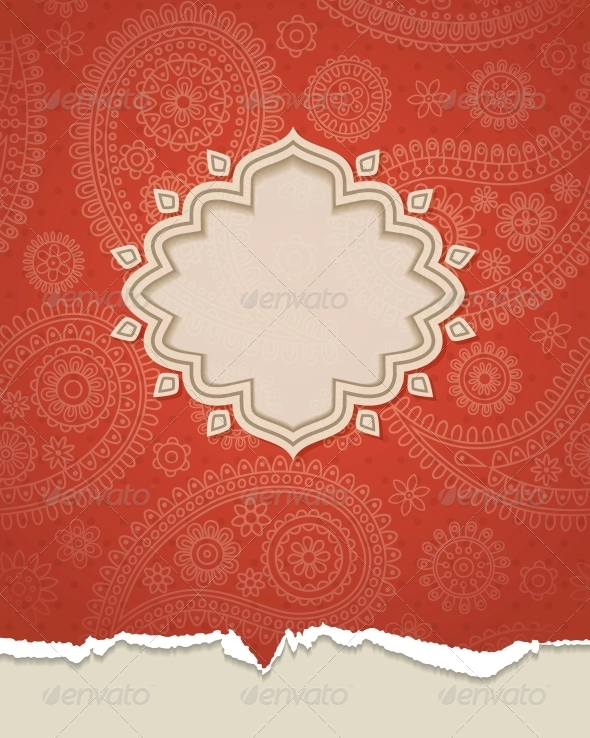 GraphicRiver Indian Frame 4300351