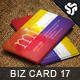 Business Card Design 17 - GraphicRiver Item for Sale