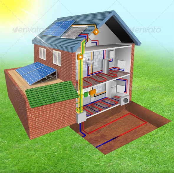 GraphicRiver Solar Panels 4054760