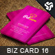 Business Card Design 16 - GraphicRiver Item for Sale