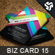 Business Card Design 15 - GraphicRiver Item for Sale
