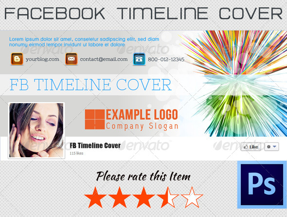 GraphicRiver FB Timeline Cover 004 4112792