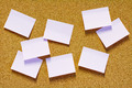 Sticky notes on corkboard - PhotoDune Item for Sale