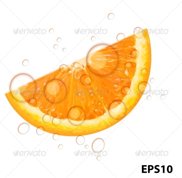 GraphicRiver Fresh Orange Background Vector Illustration 4305611