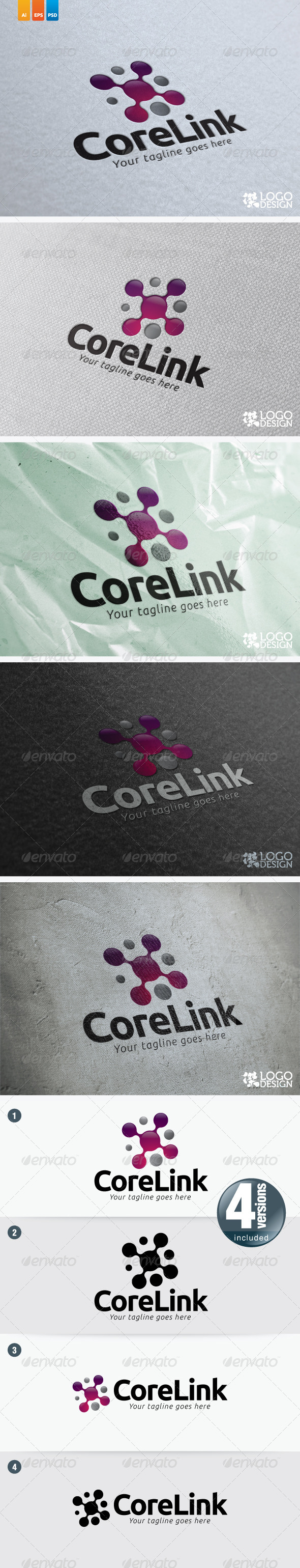 Core Link - 3d Abstract