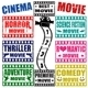 Set of Movie Genres Stamps  - GraphicRiver Item for Sale