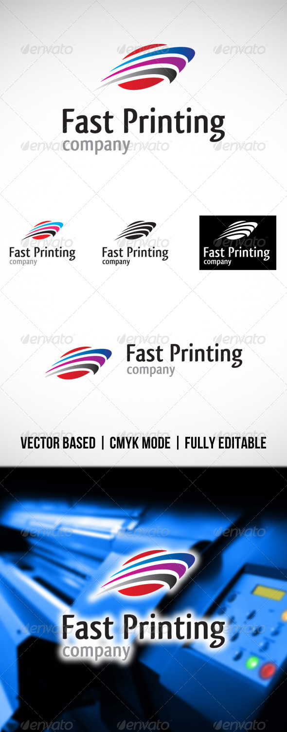 GraphicRiver Fast Printing Logo 4306905