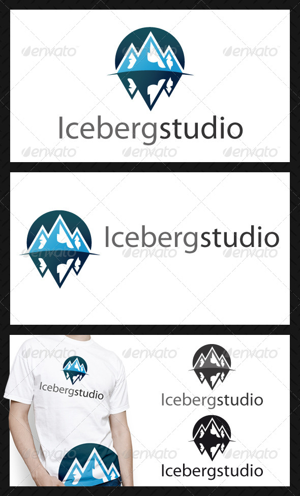 GraphicRiver Iceberg Logo Template 4199076