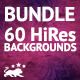 60 HiRes Backgrounds | Bundle | 5360x3560 | 300dpi - GraphicRiver Item for Sale