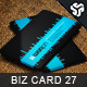Business Card Design 27 - GraphicRiver Item for Sale